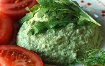 Сыроедческие и вегетарианские рецепты / Сыроедческий паштет из пророщенной гречки и авокадо
