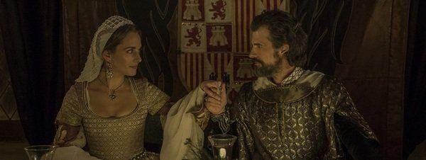Primeras imágenes del rodaje de 'La corona partida'