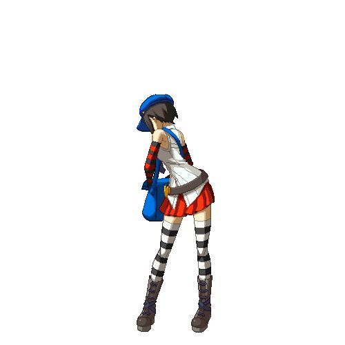 Marie (Persona 4 Arena) Animations