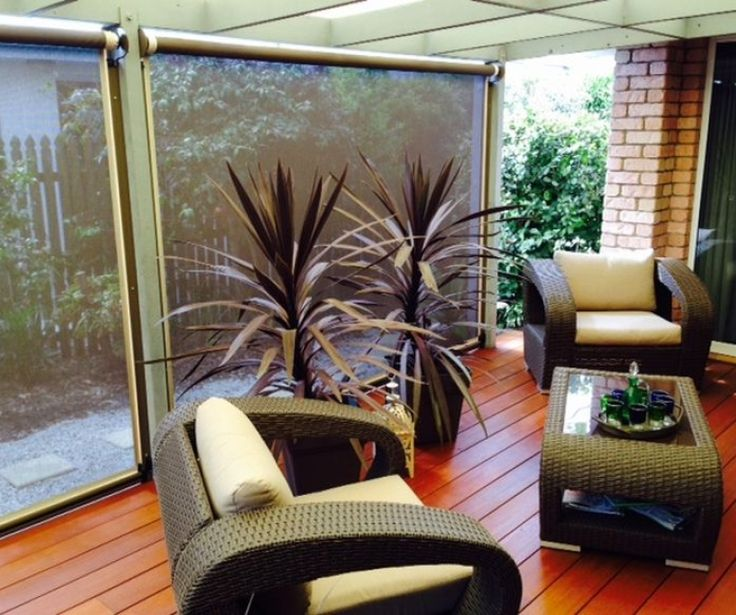 Verandah Blinds Gold Coast