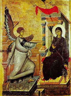 Pictor de Icoane: Bunavestirea - povestea de iubire dintre Dumnezeu ...