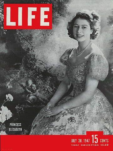 LIFE Magazine July 28, 1947 - Princess Elizabeth