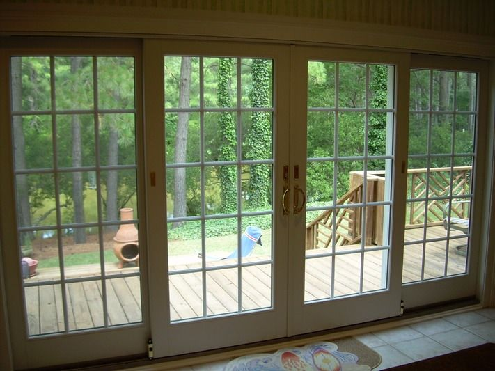 34 best images about breezeway on pinterest jalousies for Andersen french doors