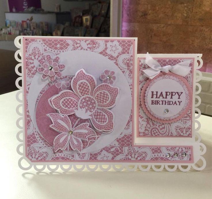 """Kanban """" Lovely In Lace"""" by Dawn Wheeler"""