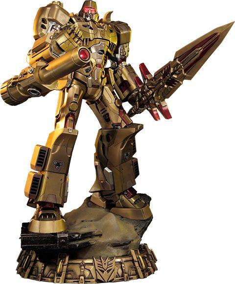 Megatron Gold Edition - Transformers Generation 1 Statue
