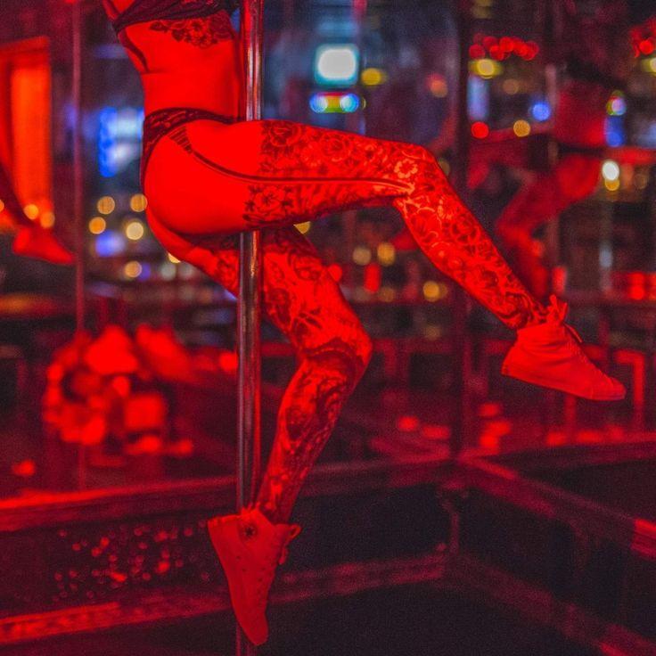 Strip dance