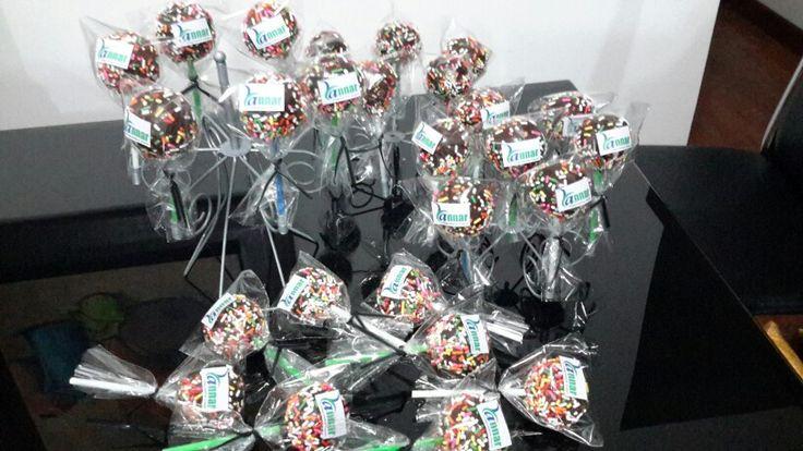 Cake Pops para llevar a Pasto con nuestro cliente Annar