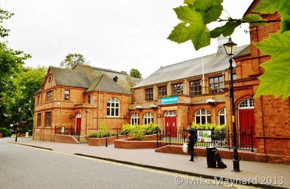 Darlaston Town Hall. England