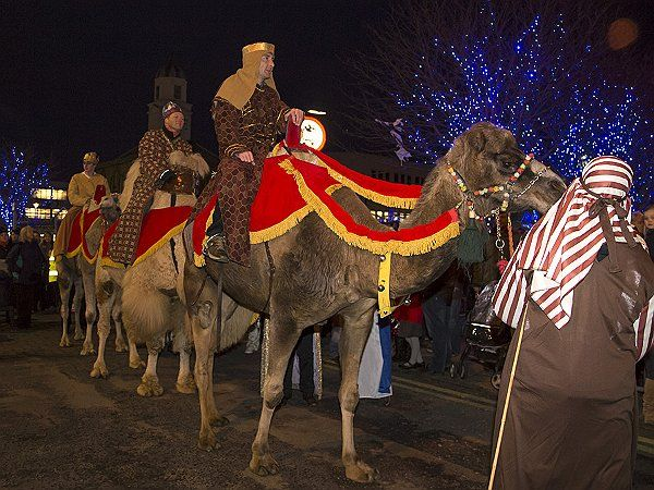 On Friday 5 December, from 5pm, we welcome the three kinds so South Shields. The wise men will travel along King Street on their trusty camels, along to the Market Place. Once the kings have arrived there, they will be greeted with Christmas Carols and lots more, as St Hilda's Christmas Wonderland lights light up for the first time!