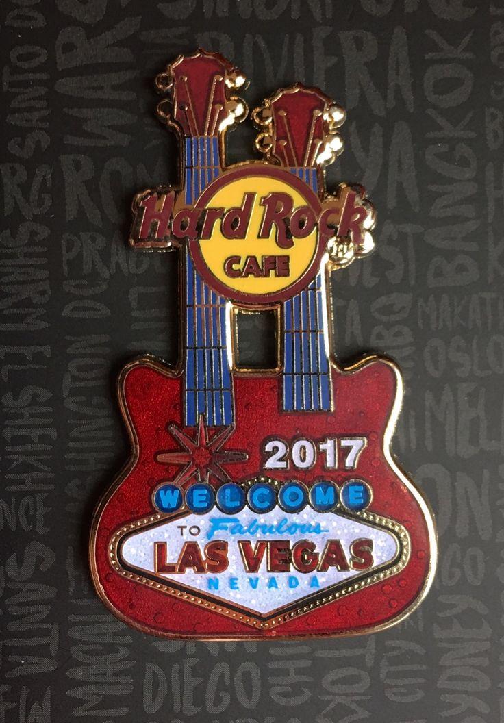 Pins Hard Rock Cafe Las Vegas