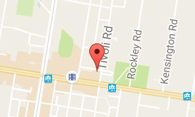 Map of Tivoli Road Bakery