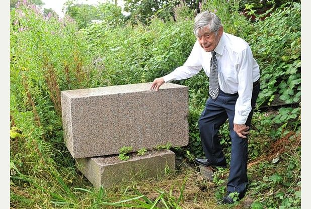 WW1 memorial found buried in Hull's East Park | Hull Daily Mail