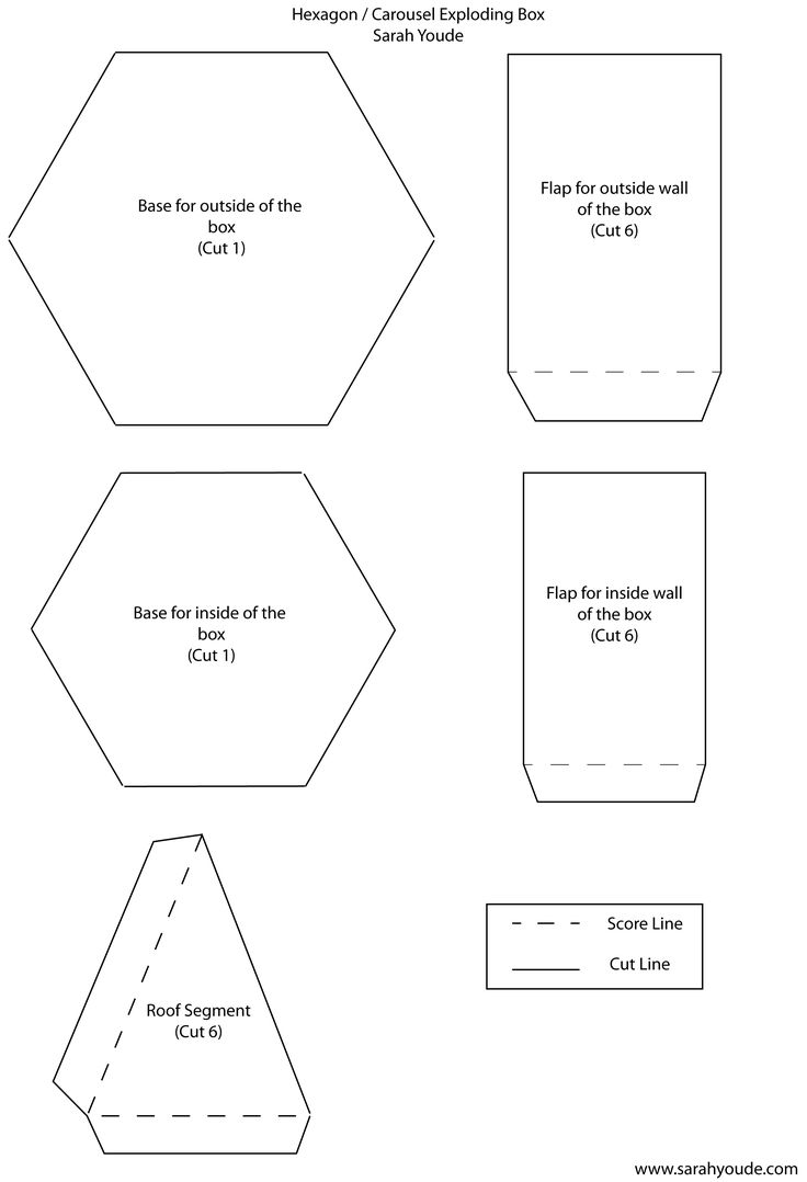 box cards templates