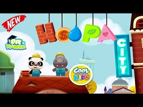 Dr Panda Hoopa City ★ New Dr. Panda Game | Cool Apps For Kids