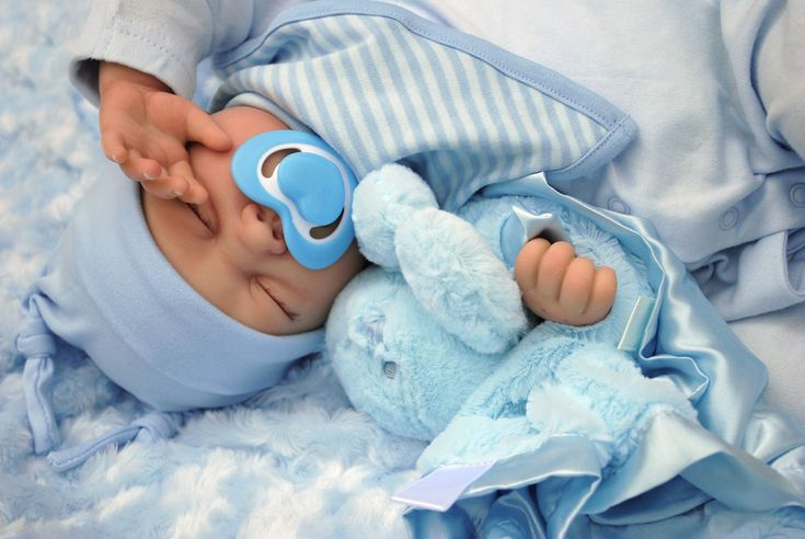 "REBORN BABY BOY DOLL NOAH  FAKE BABIES REALISTIC HAND PAINTED 22"" BIG NEWBORN   in Dolls & Bears, Dolls, Clothing & Accessories, Artist & Handmade Dolls 