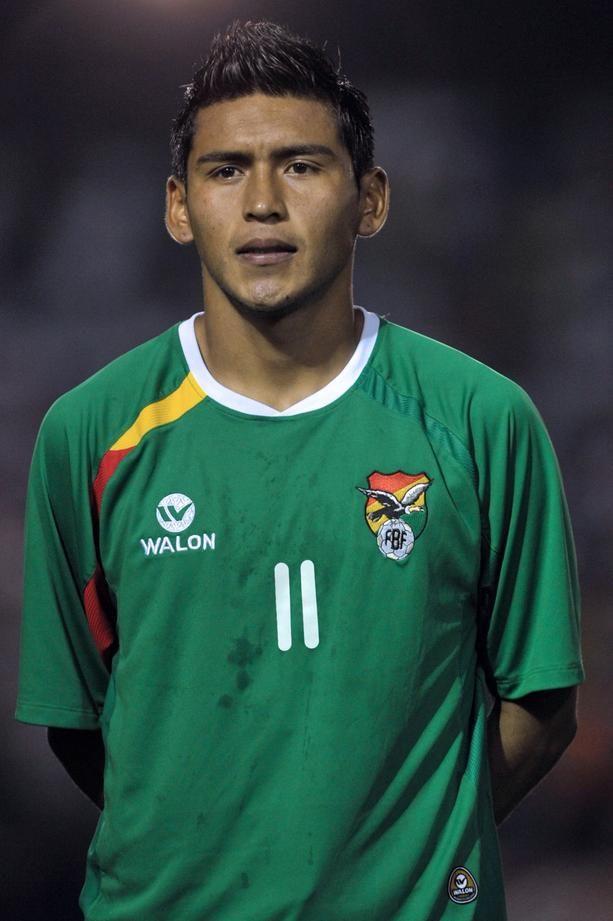Bolivia's team footballer Rudy Cardozo ,