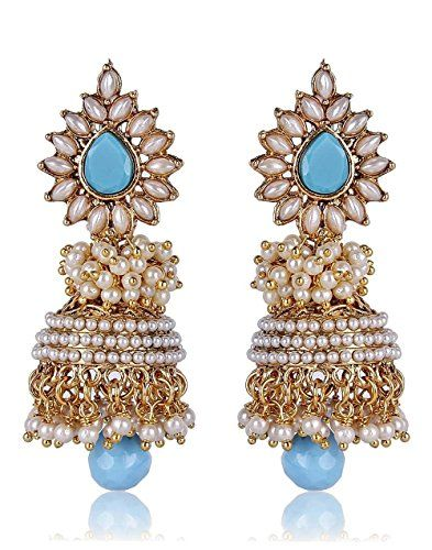 Indian Bollywood Most Beautiful Pearls Polki Stylish & Go... https://www.amazon.com/dp/B01L5DO81W/ref=cm_sw_r_pi_dp_x_GncLyb38WV3E7