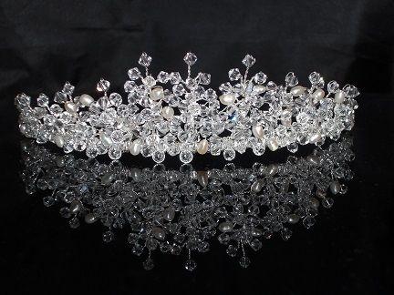 Wedding Bridal Hair Accessories Diamante Tiaras Hairbands Combs Hair Vines Clips
