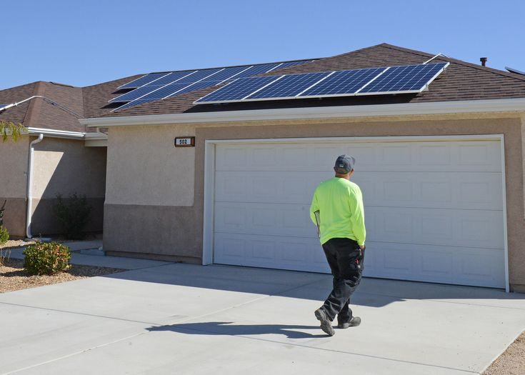 Solar Electric System Solarpanels Renewable Power In