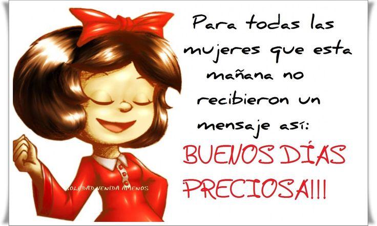 〽️ Buenos dias preciosa !!