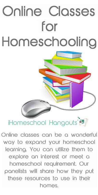 Online Classes for Homeschool - iHomeschool Hangout & Podcast