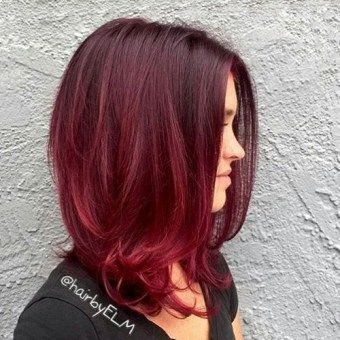 red ombre hair color - absolutely love this!