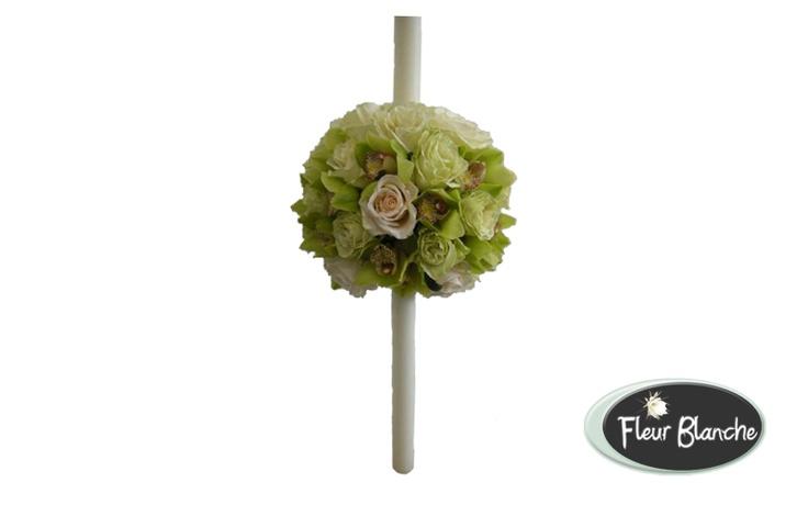 Luxuriante- lux si rafinament http://www.florariafleurblanche.ro/produse/lumanari-de-nunta