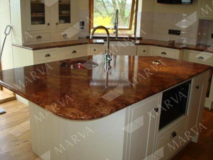 Diamond Red Granite Designs Marva The Galleria Of Stone Kitchen Remodel Countertops Red Granite Countertops Granite Countertops Kitchen