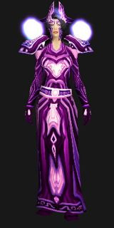 Priest Set - Netherwind Regalia (Recolor) - Transmog Set - World of Warcraft #WoW