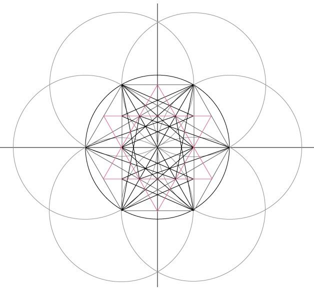 Best ArchiGeometrie Images On   Mandalas Sacred