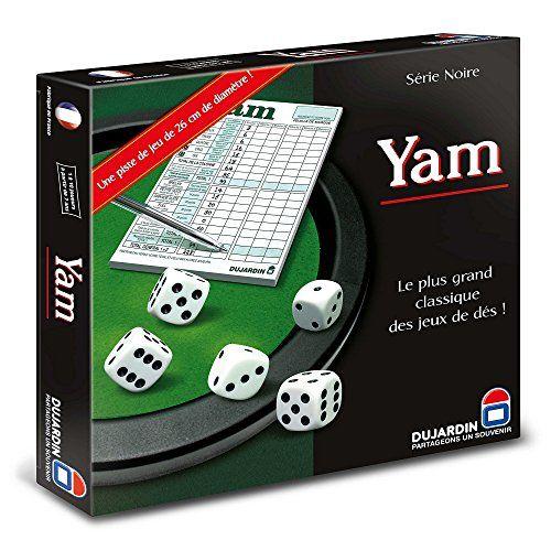 Dujardin – Jeu de société – Yams: Age Minimum : 7 ans Ncessite des Piles: : non Descriptif Produit : Intrieur floqu amnag en piste de jeu…