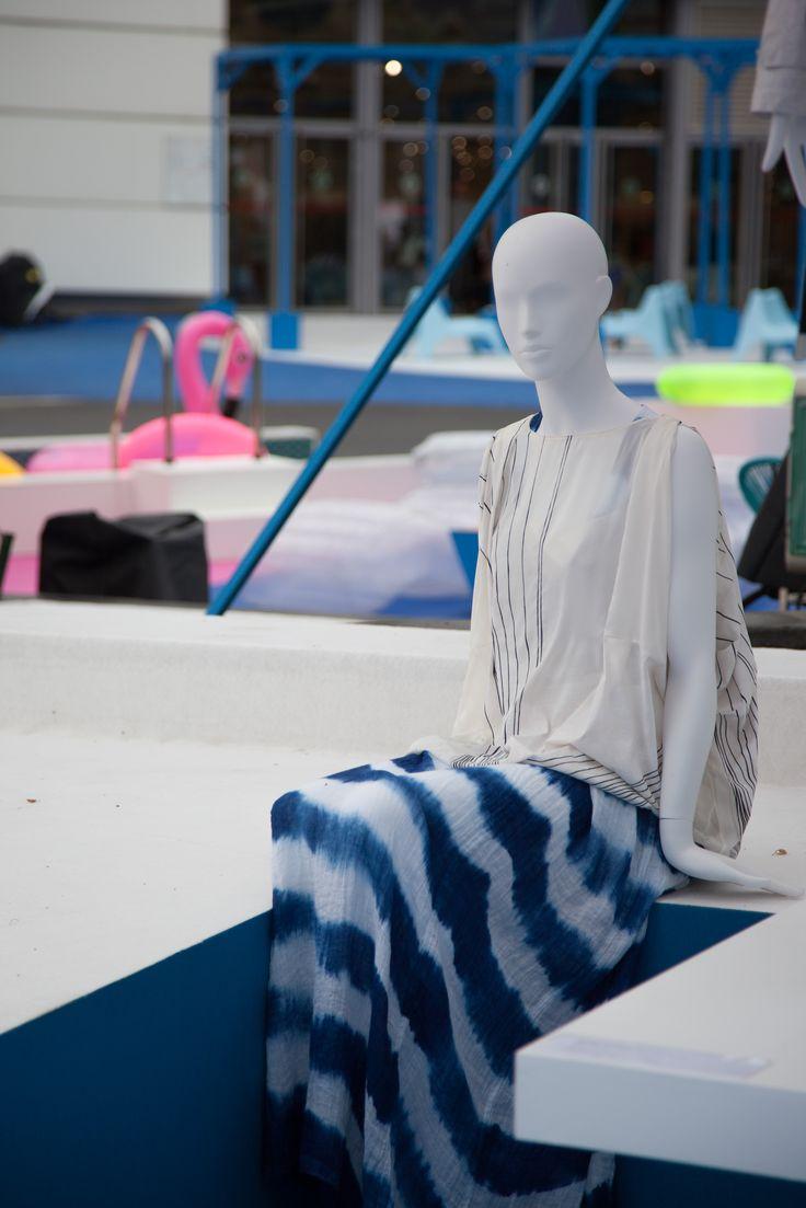 Les mannequins de Cofrad au salon Who's next 2016 pour la présentation des nouvelles tendances Printemps/été 2017