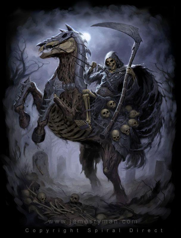 Death Rider by James Ryman - death, rider - Art of Fantasy