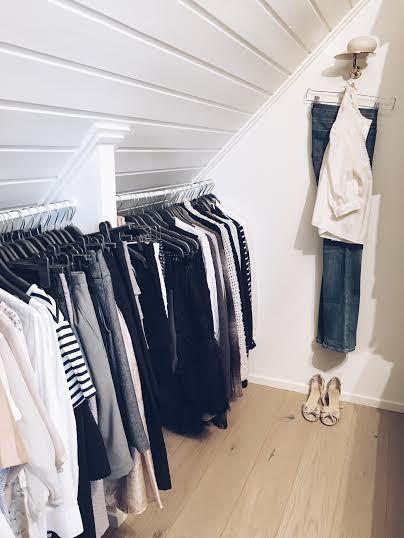 in my walk in closet