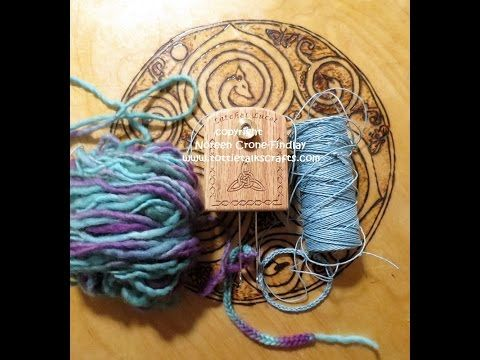 People have been asking about working with both thin yarns, threads and cords as well as thicker yarns on the Latchet Lucet. This video shows the stitch wigg...