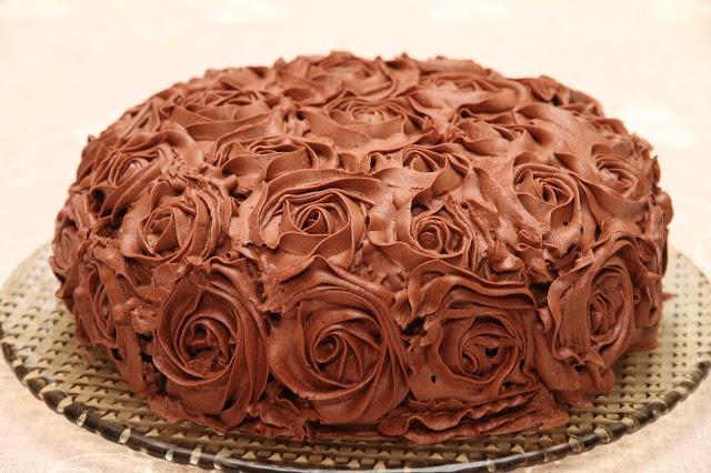 Sjokolade rosekake