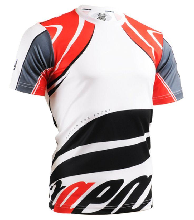 ZIPRAVS - Fixgear Mens Printed Badminton Tee Shirt Short Sleeve , $29.99  (http:/