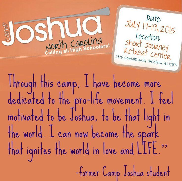 Camp Joshua North Carolina