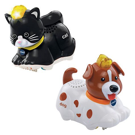 Buy VTech Baby Toot-Toot Animals Cat & Dog Duo Online at johnlewis.com