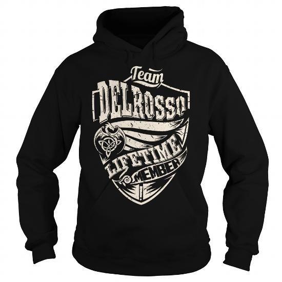 Cool Team DELROSSO Lifetime Member (Dragon) - Last Name, Surname T-Shirt T-Shirts