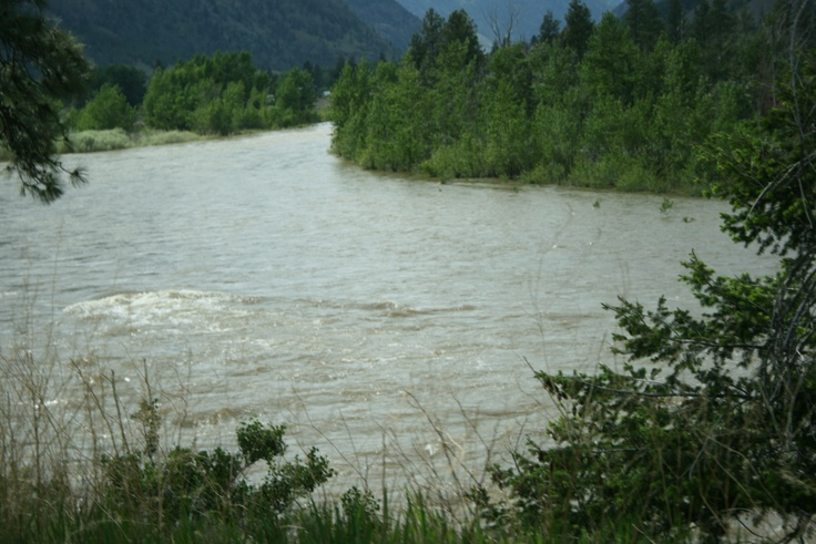 high water on the Similkameen