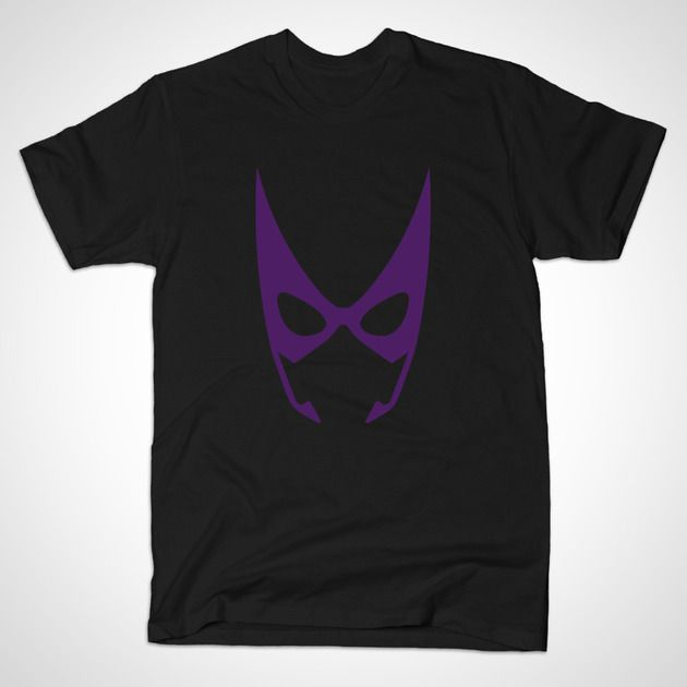 Huntress Mask by MINIMALISTHEROES - #Huntress #DCcomcis #TShirt #TeePublic #Shirt #Comics #ComicBooks