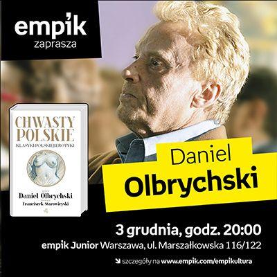 Zapraszamy na dzisiejsze spotkanie z Danielem Olbrychskim w warszawskim Juniorze!