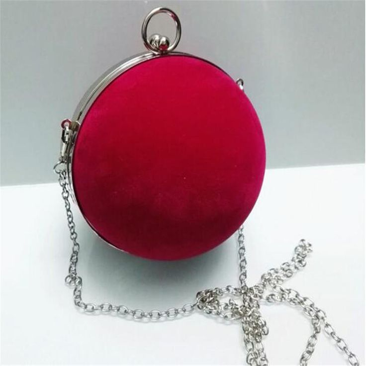 Lovely small round ball clutch bag gown evening bag show field hand bag chain crossbody bags for women purses handbags wallet #womanfashion #womenfashion #clutch #eveningbag