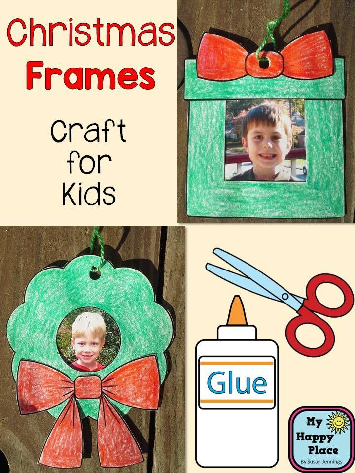 Christmas Frames Craft Ornaments