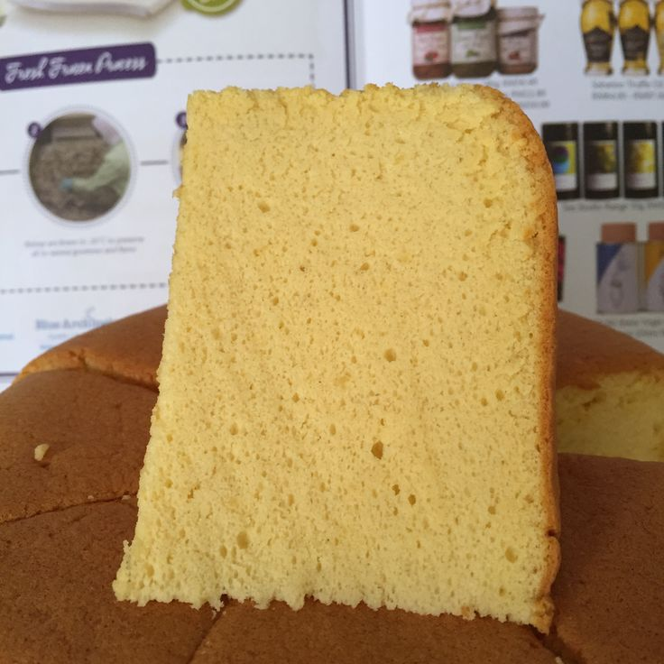Golden Banana Sponge Cake Ingredients:- 6 eggs yolks – I used free range chicken eggs which are about 65g each 70g corn oil 100g plain flour Pinch of salt 100g pureed banana – 1 large banana …