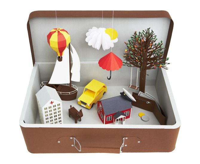 fantasy world in a box / Fideli Sundqvist