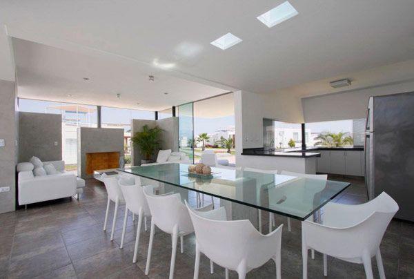 Beach House in Peru Hosting Inspiring Modern Design: Casa Viva