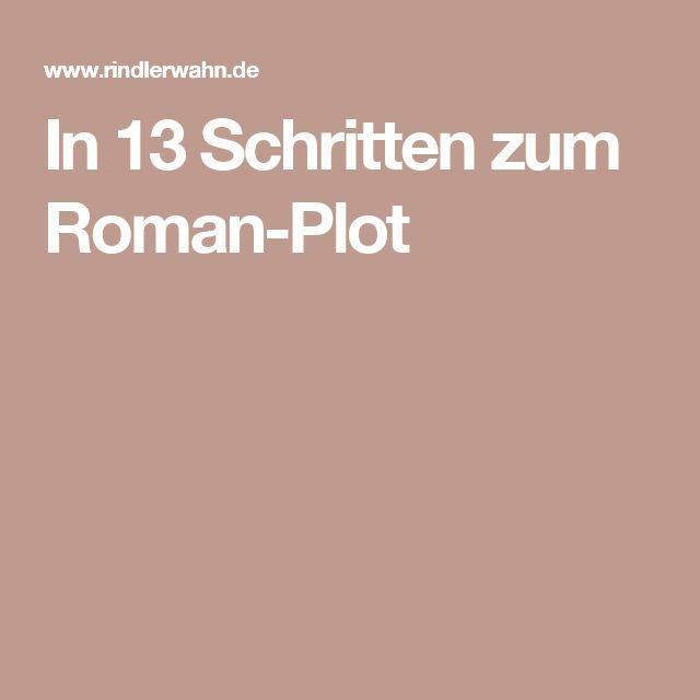In 13 Schritten zum Roman-Plot