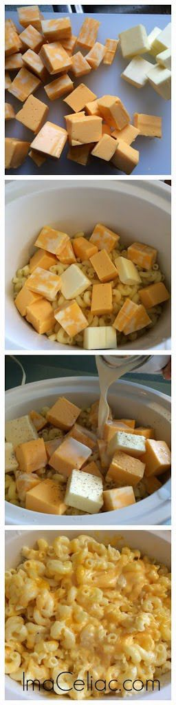 Gluten Free Crock Pot Mac n Cheese | I'm A Celiac